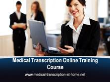 Medical Transcription Training Course
